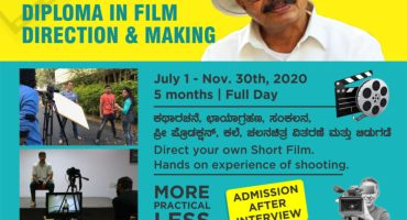 Diploma in Filmmaking and Direction at Tent Cinema Bangalore