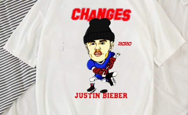 Changes Hockey Justin Bieber Shirt Tentenshirts