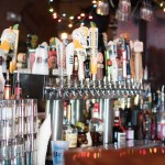 Beer Taps at the 10th Ave Belmar Bar