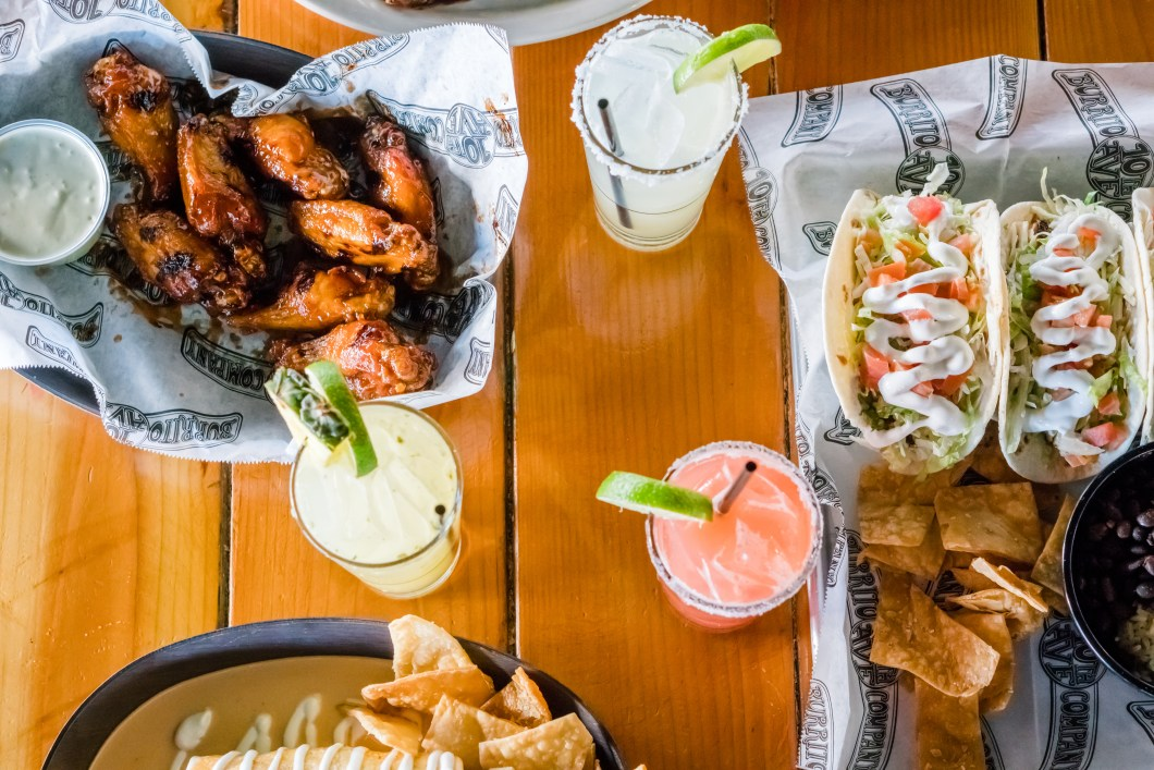 Fresh Mexican Cuisine with wings, tacos, burritos and margaritas
