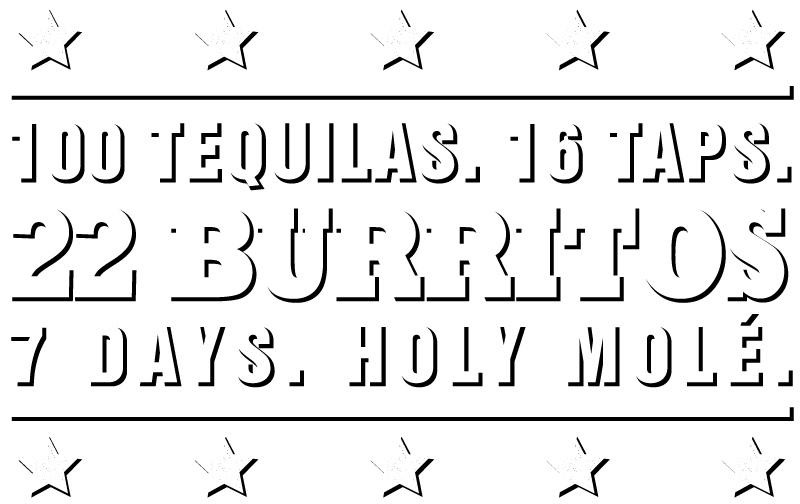 Fresh Mexican Cuisine + Beer + Tequilas Logo