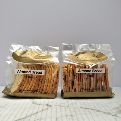 packet almond bread biscuits
