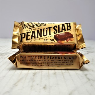 stack of small peanut chocolate bar