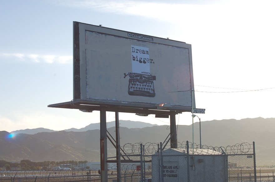"""Dream Bigge(r)"" by WRDSMTH. Photo provided courtesy of WRDSMTH"