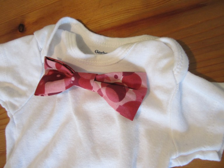 interchangeable baby bow tie onesies