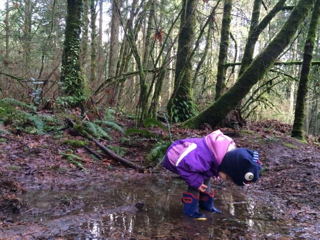 #GetOutside Challenge puddle
