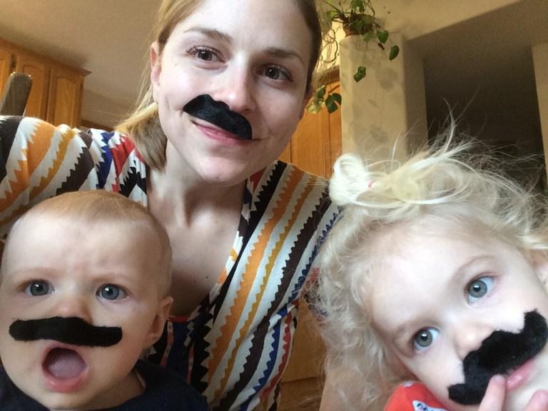 Family mustache Ten Thousand Hour Mama