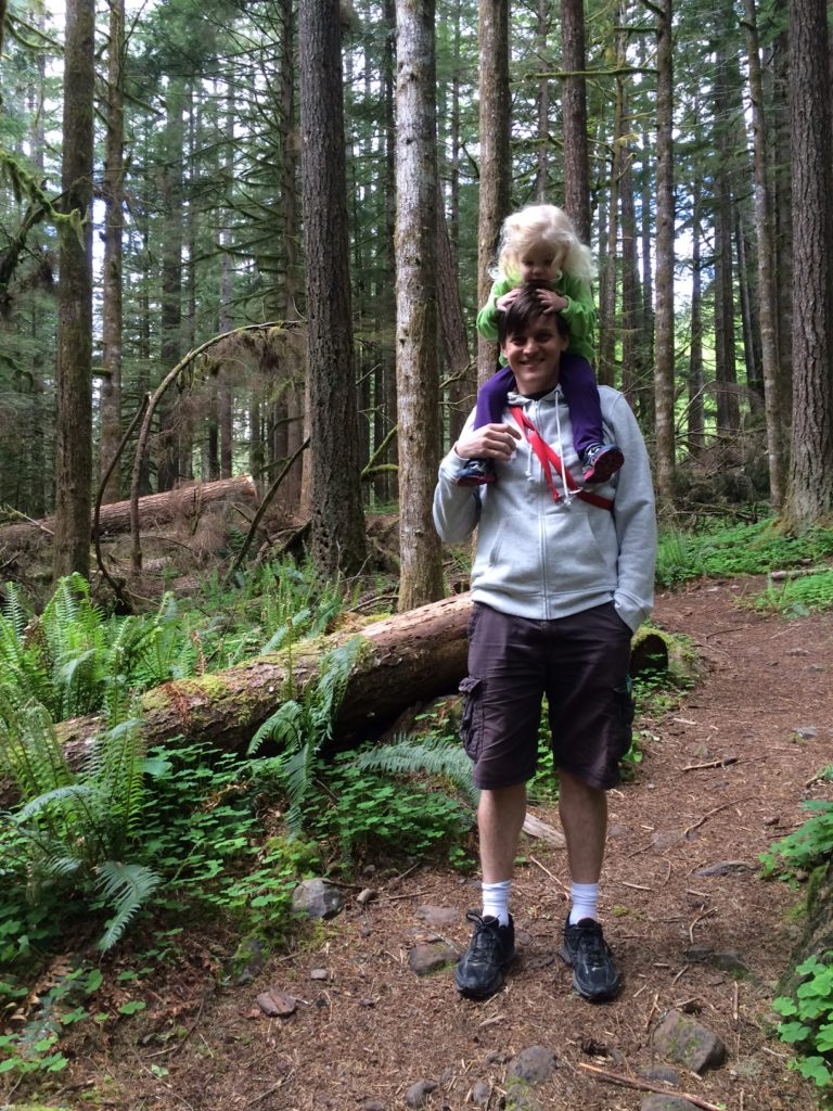 The Old Salmon River Trail is a great family hike near Portland, Oregon. Ten Thousand Hour Mama