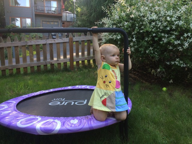 baby play trampoline