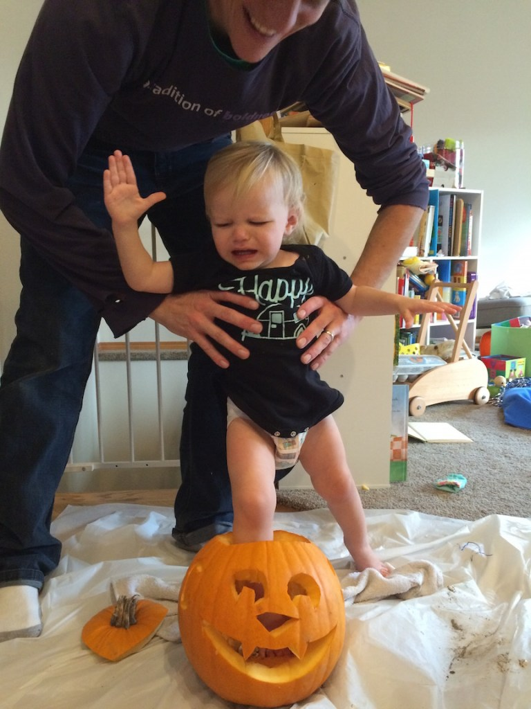 My toddler tells us what she wants (and doesn't want - like carving pumpkins!). Ten Thousand Hour Mama