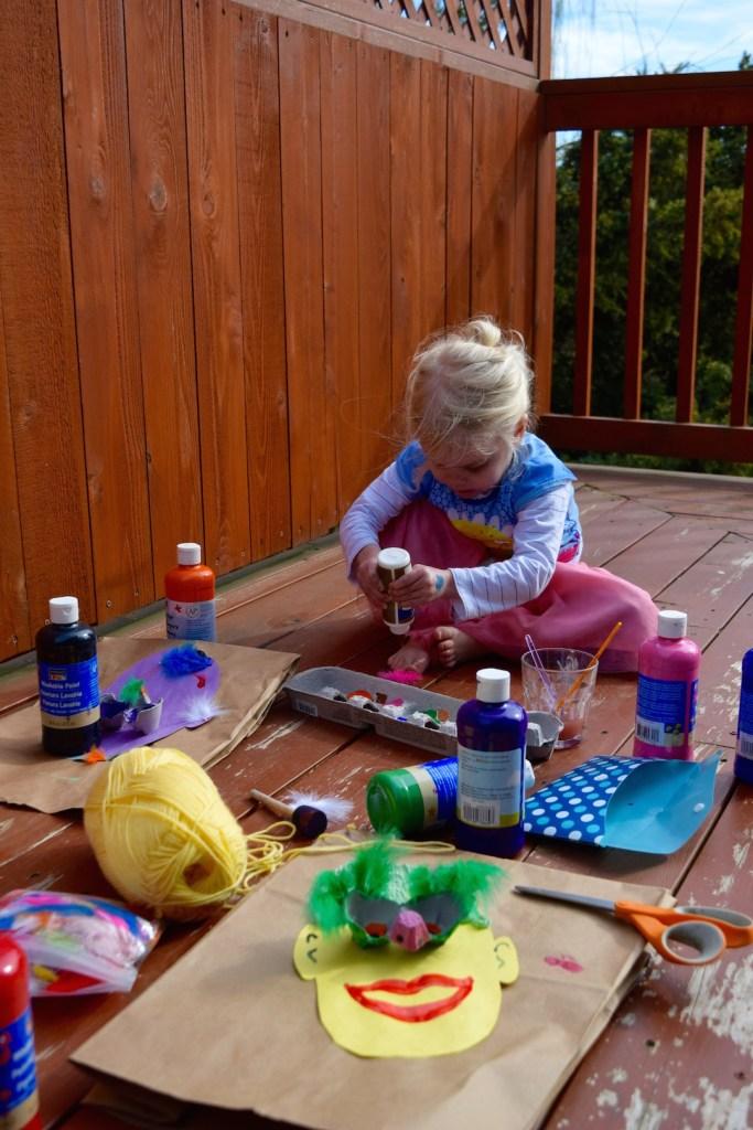 Egg carton crafts for kids // egg carton faces // Ten Thousand Hour Mama