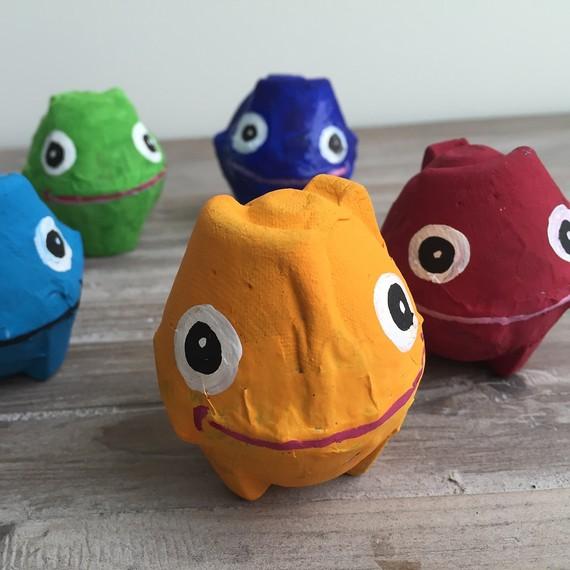 10 fun egg carton crafts // Ten Thousand Hour Mama