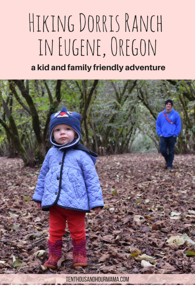 Eugene, Oregon kid and family friendly hikes: Hazelnut orchards of Dorris Ranch. Ten Thousand Hour Mama