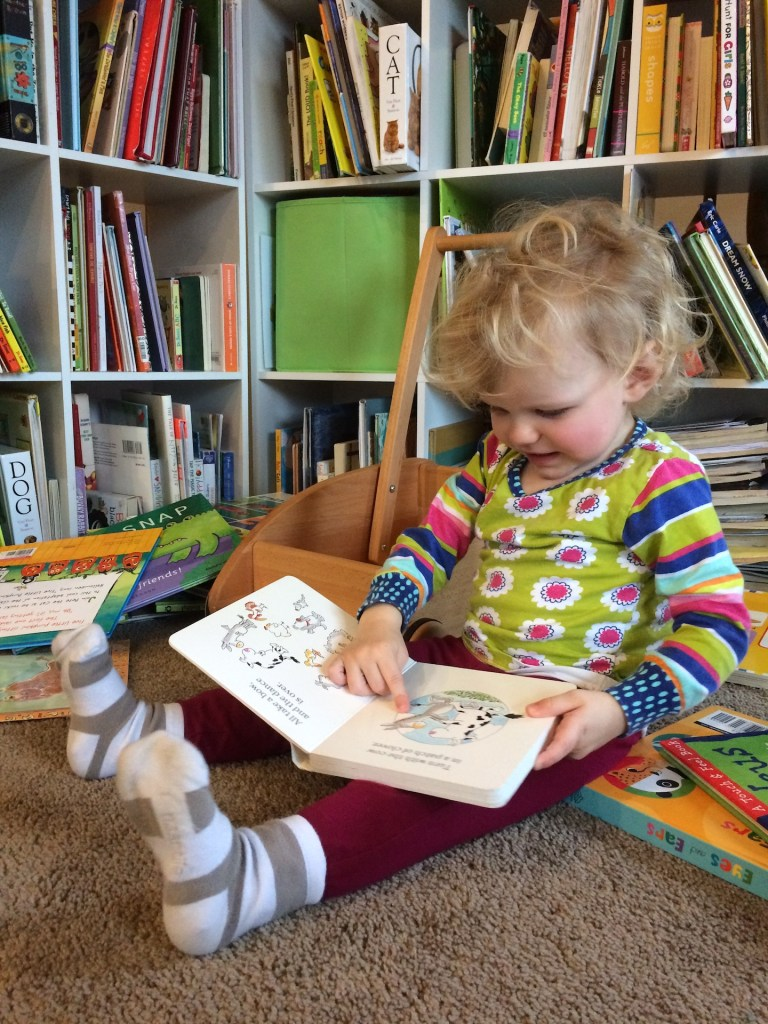 Learning to love to read books - Ten Thousand Hour Mama