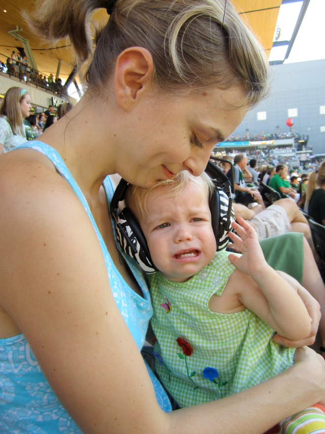 Portland Timbers toddler fan - Ten Thousand Hour Mama