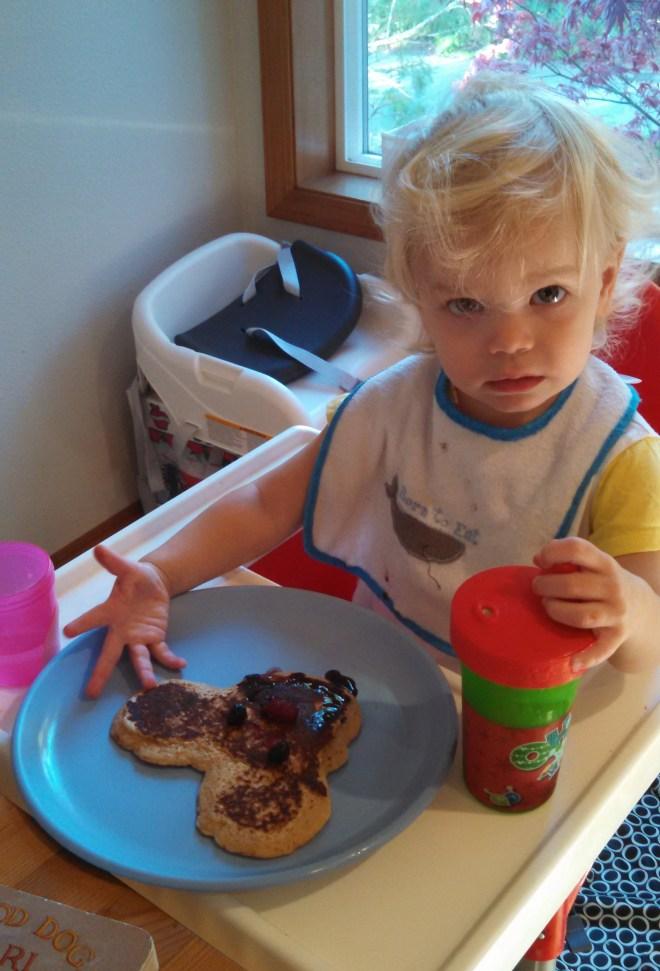 Toddler pancake - Ten Thousand Hour mama
