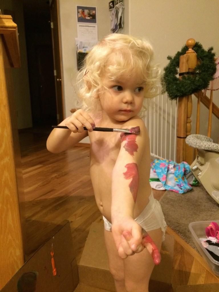 Washable paint - Ten Thousand Hour Mama