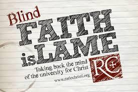 No More Blind Faith!