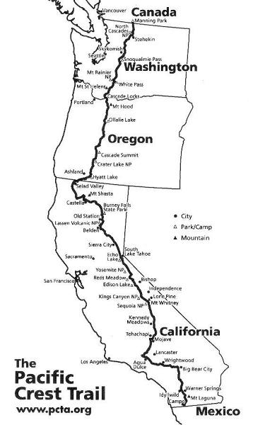 The Big 40 PCT-Oregon Trek