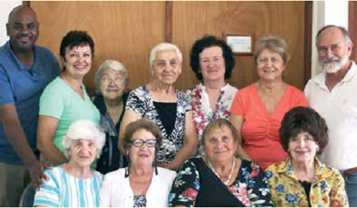 The Golden Age group together with Avi and Eitan