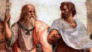 Human Philosophy - Plato & Aristotle (painting by Raphael)