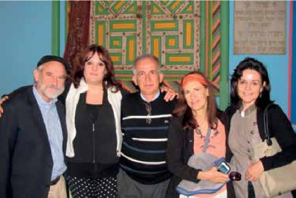 Together in the synagogue