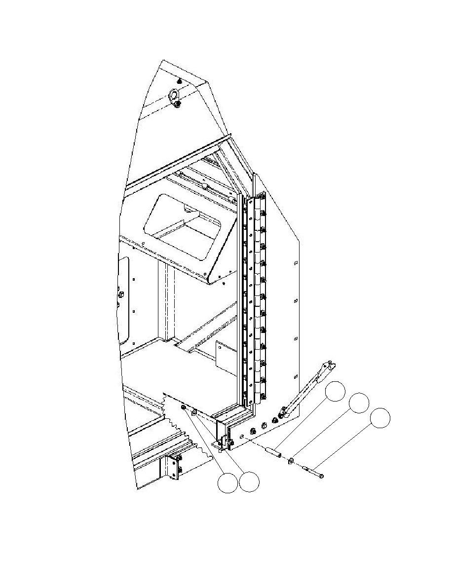 Figure 3-50. Cab Frame Rail Sleeve Bushing Installation