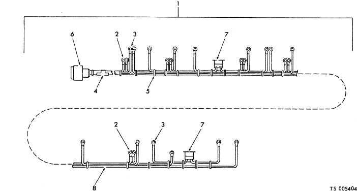Figure 4. Underfloor heaters wiring harness assembly.