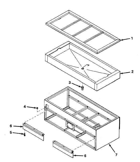 REPAIR OF STEAM TABLE ASSEMBLY.