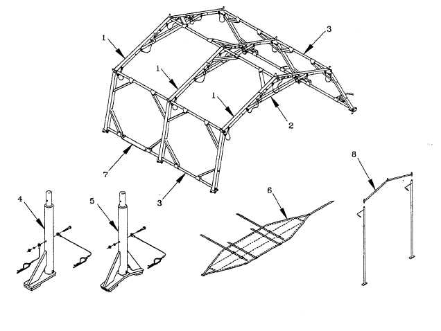 FRAME SECTION COMPONENTS