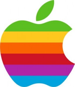 Logo de Apple Arcoiris