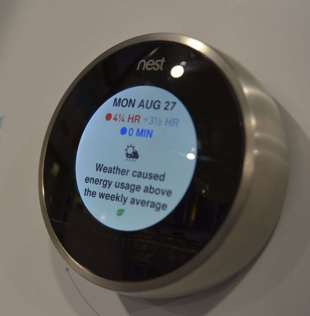 Termostato inteligente de Nest