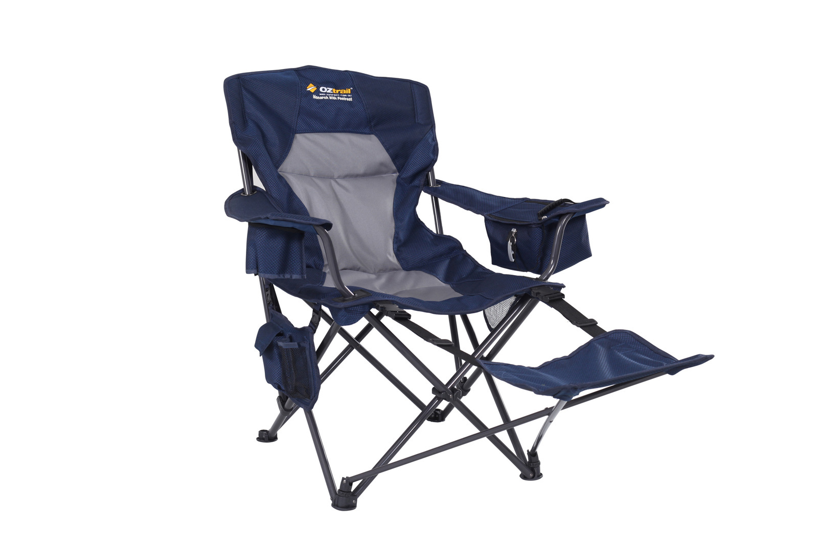 Camping Chair With Footrest Oztrail Monarch Footrest Chair Tentworld