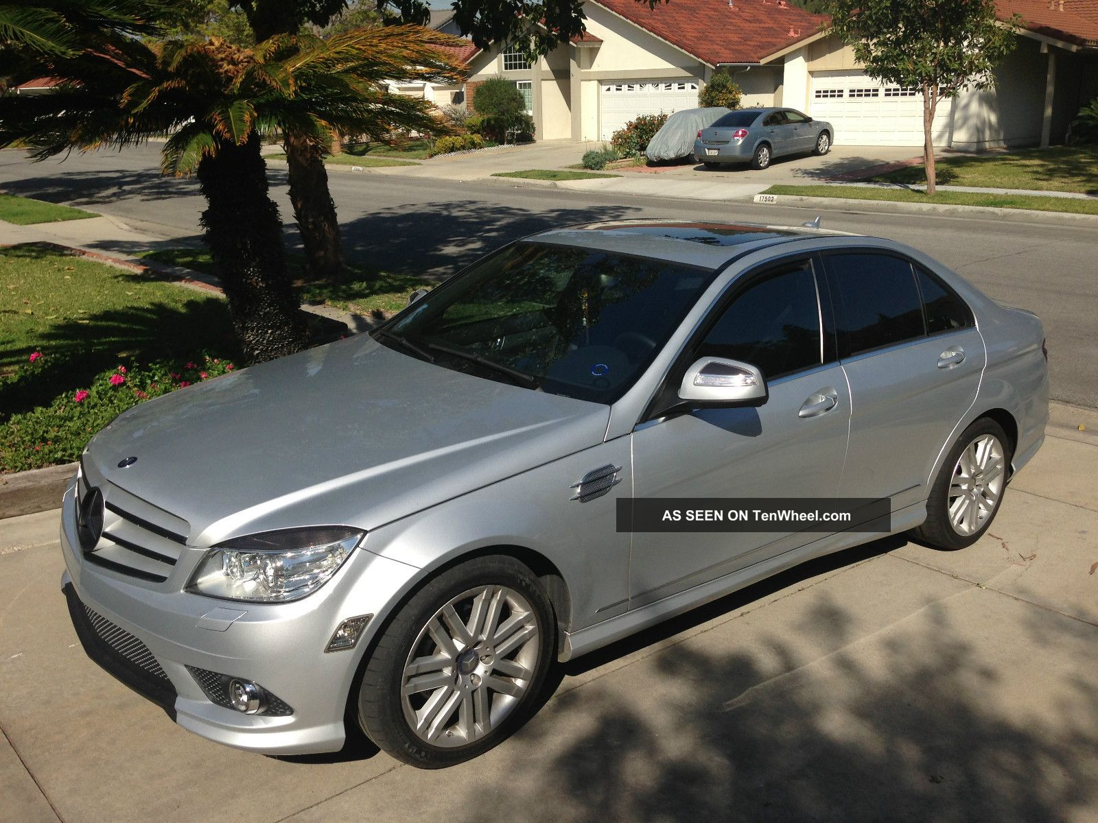 hight resolution of  2008 mercedes benz c class 4dr sdn c300 sport premium package p2 silver c