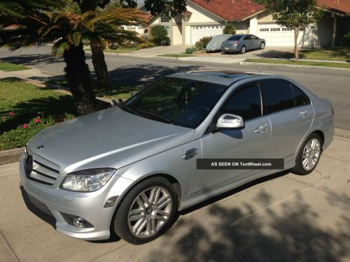 small resolution of  2008 mercedes benz c class 4dr sdn c300 sport premium package p2 silver c