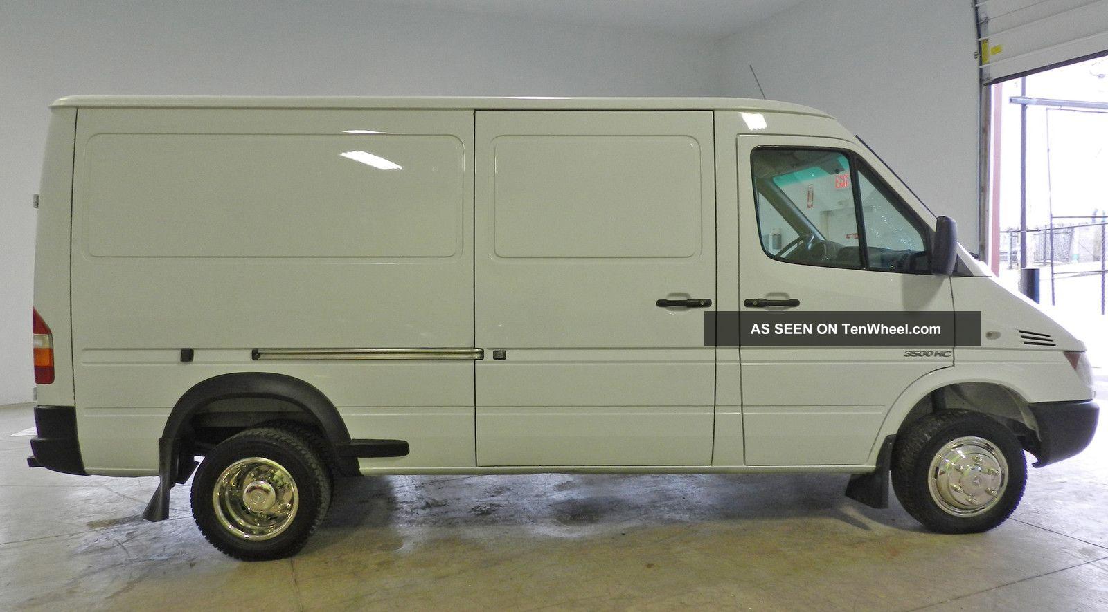 Freightliner 3500 Sprinter Van Conversion