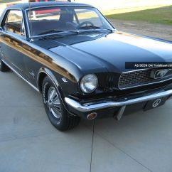 1966 Mustang 289 Engine Volt Drop Formula Coupe Automatic