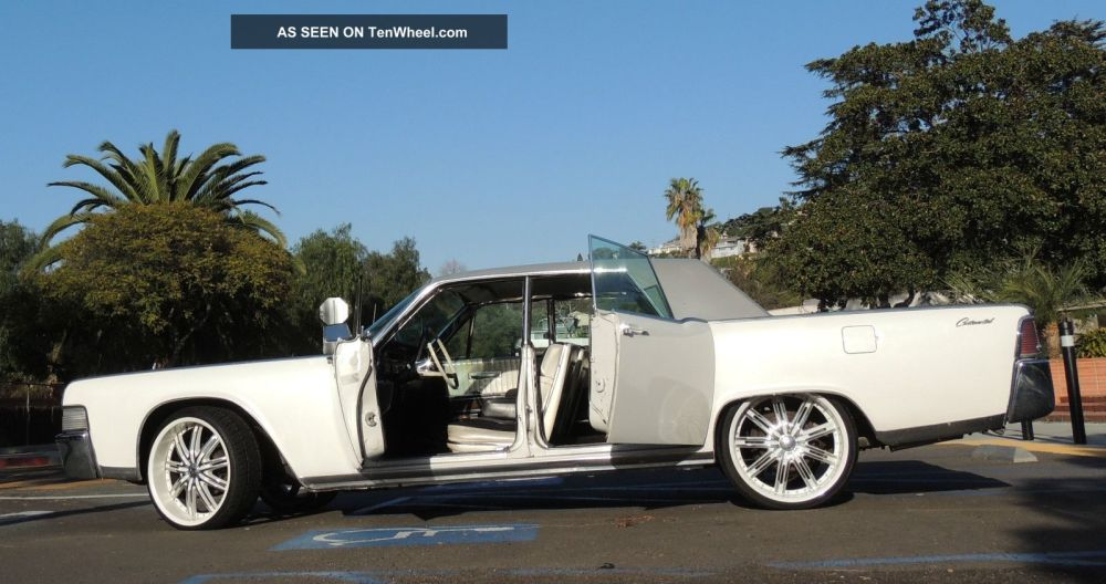 medium resolution of 1965 lincoln continental w suicide doors continental photo 3