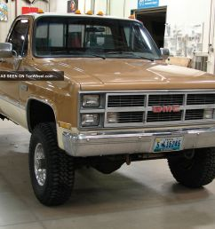 engine electrical system source 1984 gmc k35 k30 high sierra 454tbi many extras loaded one ton [ 1600 x 1200 Pixel ]