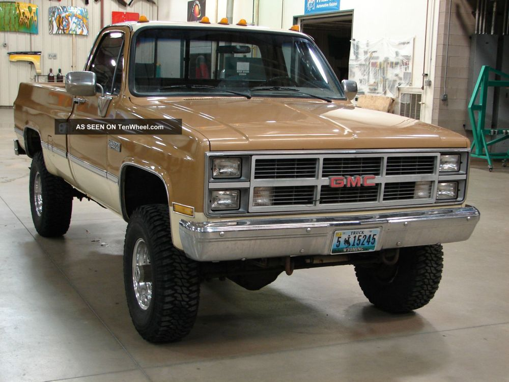 medium resolution of engine electrical system source 1984 gmc k35 k30 high sierra 454tbi many extras loaded one ton