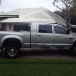 2009 Dodge Ram 3500 Mega Cab Dually 4x4 Lifted And Only 28kmi