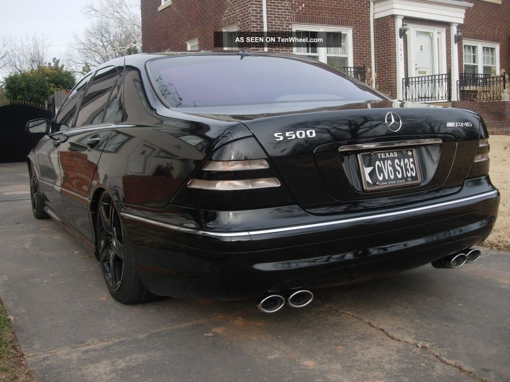 medium resolution of 2002 mercedes benz s500 air bag suspension blacked out 19 amg rims tint exhaust