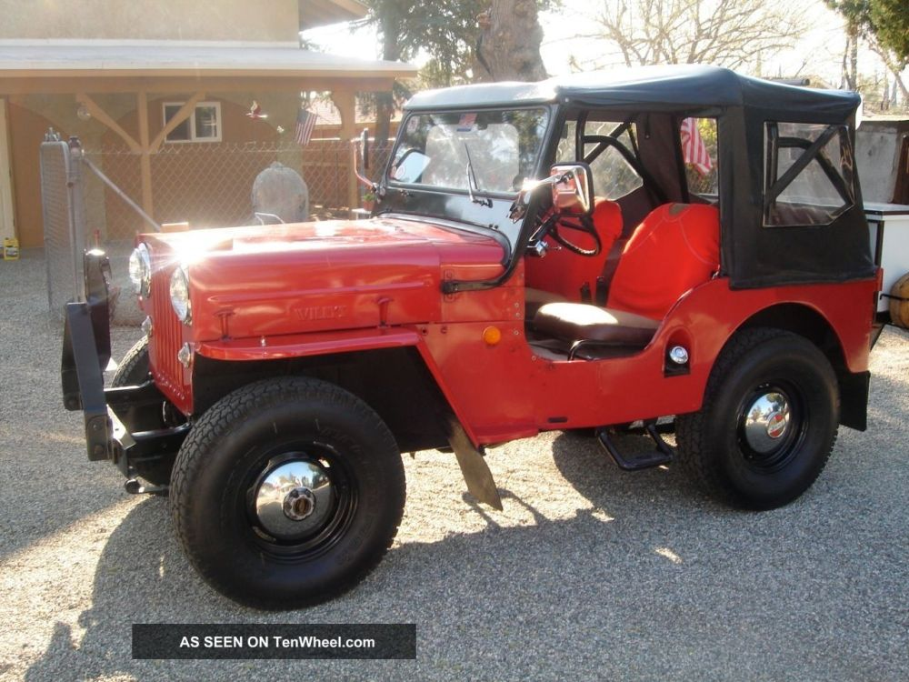 medium resolution of willys jeep 1954 cj3b rh tenwheel com 1953 willys 1953 willys