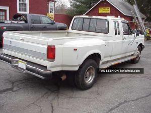 1990 Ford F350 Club Cab Diesel Dually Xlt Lariatpickup Truck