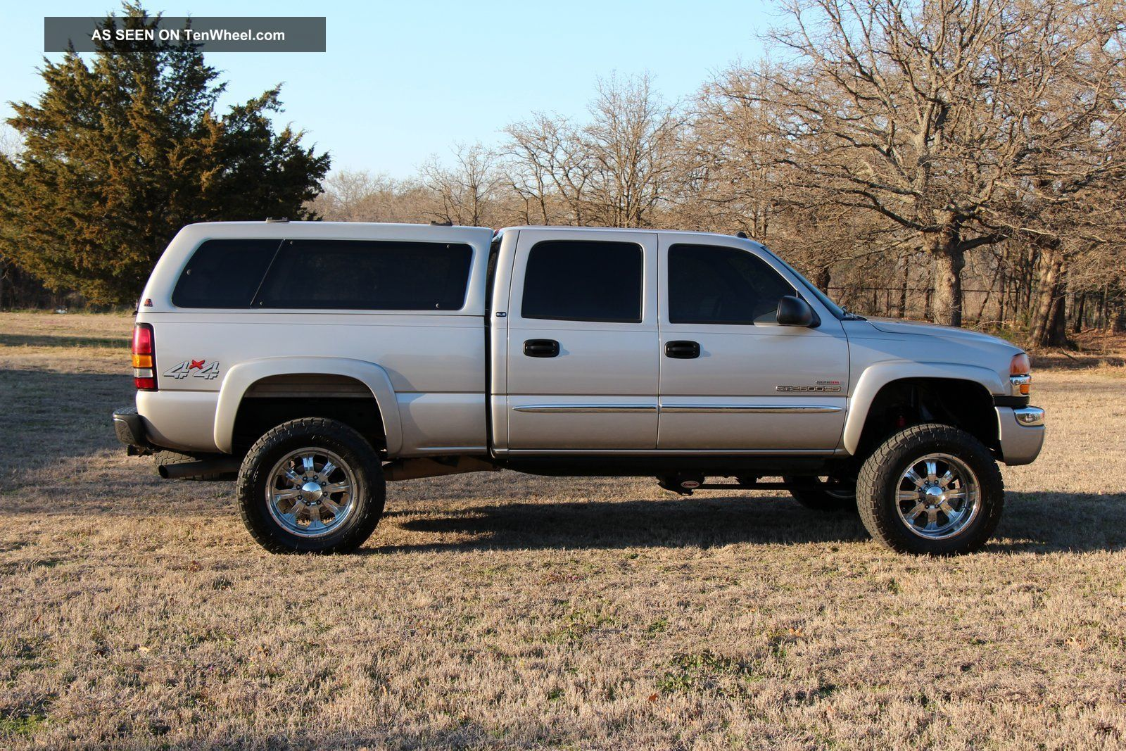 hight resolution of 2004 gmc sierra 2500 hd sle crew cab pickup 4 door 6 6l duramax diesel 4x4