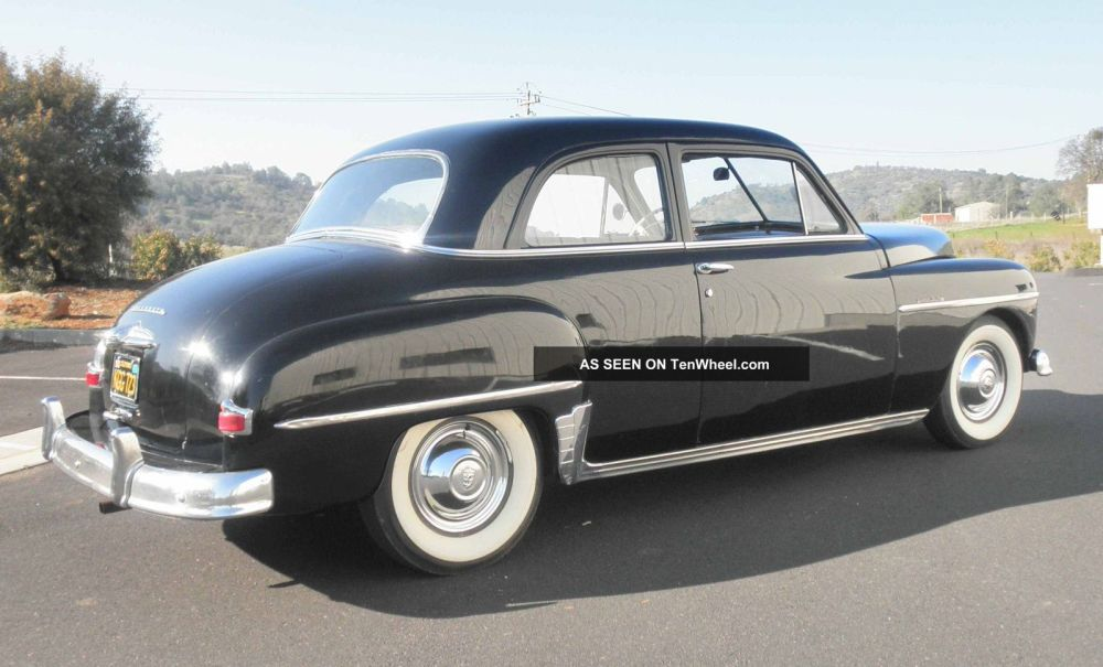 medium resolution of 1950 plymouth special deluxe coupe