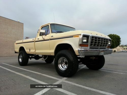 small resolution of 1979 ford f150 4x4 custom 351 v8 rust 4 inch lift automatic 4wd 79 f 150