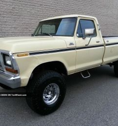 1979 ford f150 4x4 custom 351 v8 rust 4 inch lift automatic 4wd 79 f 150 [ 1600 x 1200 Pixel ]