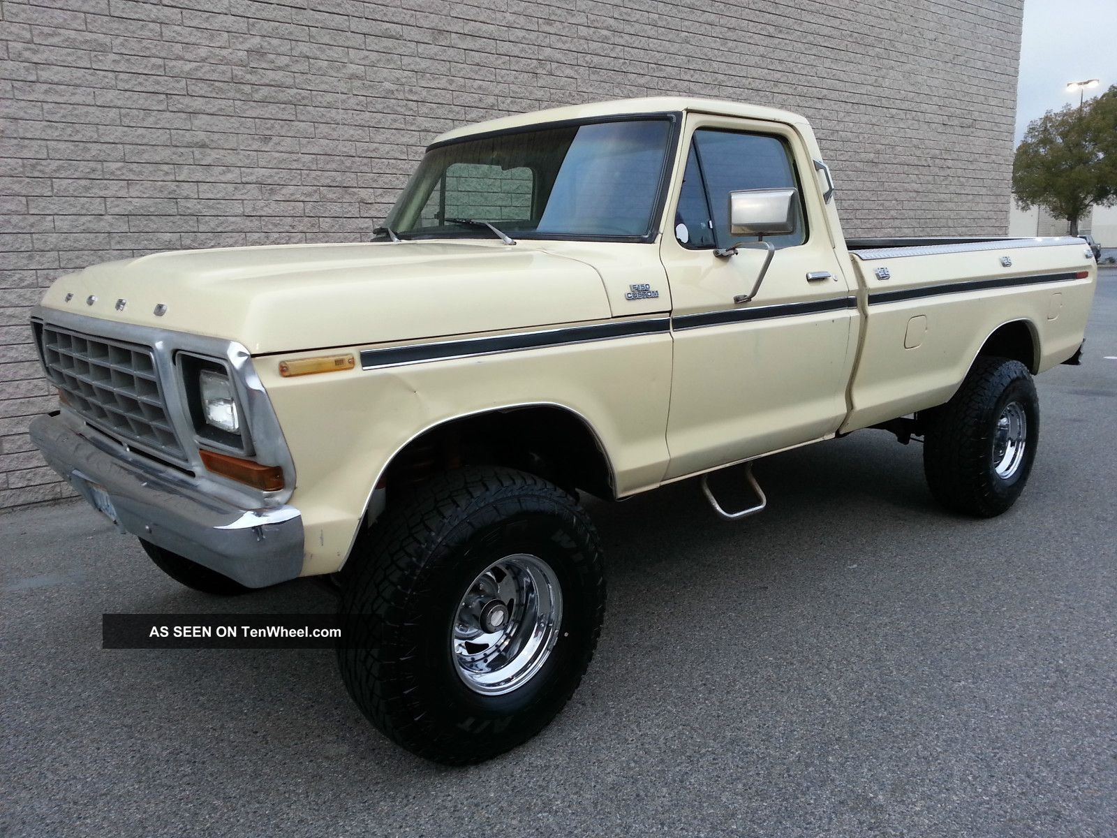 hight resolution of 1979 ford f150 4x4 custom 351 v8 rust 4 inch lift automatic 4wd 79 f 150