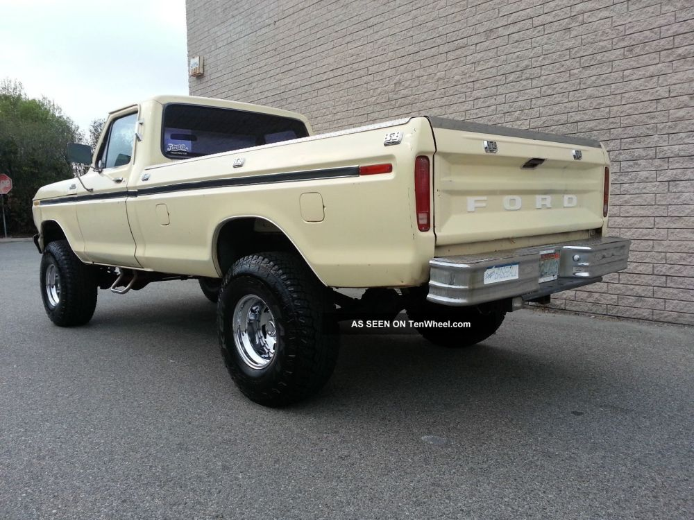 medium resolution of 1979 ford f150 4x4 custom 351 v8 rust 4 inch lift automatic 4wd 79 f 150